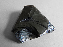 obsidian sort snøfnugg snowflake polert stein glass krystall egenskap betydning historie norge