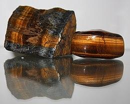 tigerøye uslipt krystaller steiner egenskap betydning beskrivelse kjøpe norsk nettbutikk mystica