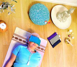 eye pillow øyepute meditasjonspute sovepute yoga yogautstyr meditasjon mystica nettbutikk