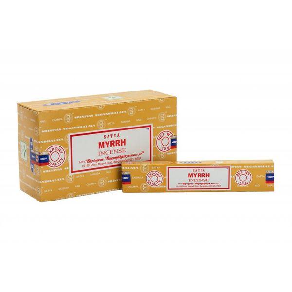 Myrra brukes til beskyttelse, helbredelse, rensing og åndelighet. Røkelse og harpiks. Resin kjegler duftpinner