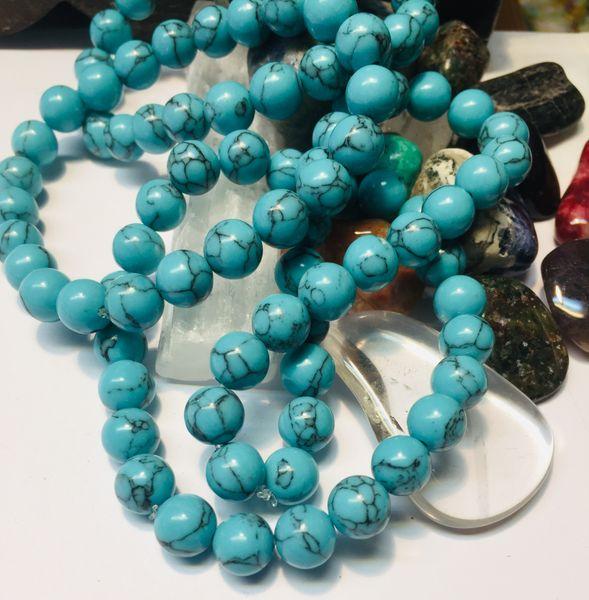 hovelitt turkis hvit blå krystaller stener egenskap betydning sten healing chakra