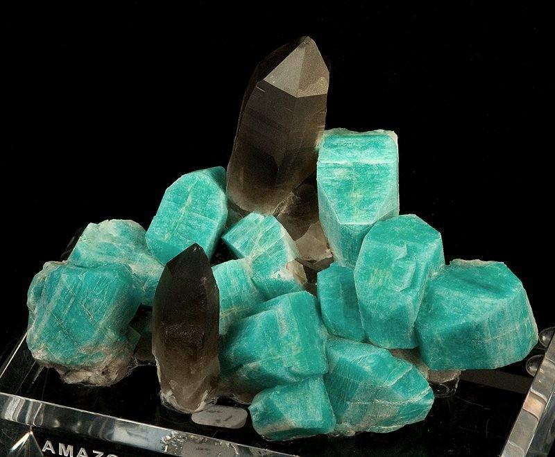 amasonitt røykkvarts råstein krystaller steiner mineraler amazonite egenskap betydning healing chakra kjøp nær deg mystica