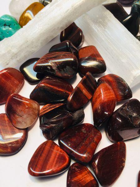 tigerøye rød hematitt trommel sten krystall kvarts mineral egenskap kjøpe hvor nær deg drammen mystica healing
