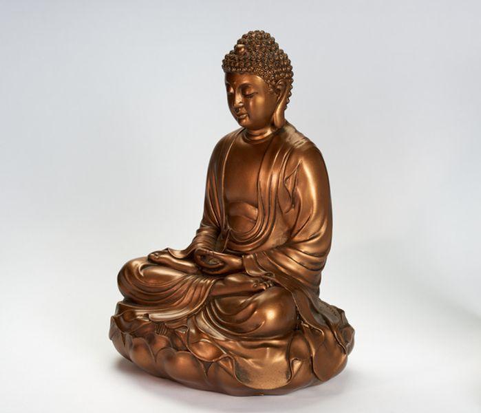 buddha lotus figur statue mystica nettbutikk butikk kjøp nær deg hvor