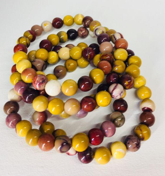 mokait mookaite mokaitt armbånd bracelet edelsten smykke mineral krystaller sten egenskap betydning healing chakra kjøp nær deg mystica