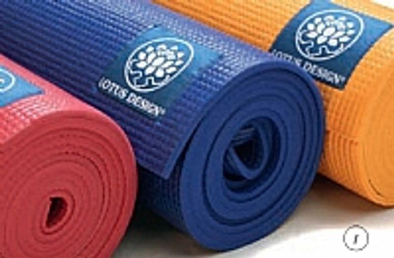 økotex yogamatte yoga matte yoga utstyr tilbehør pvc gummi jute ullmatte sklisikkert billig kvalitet lotus design