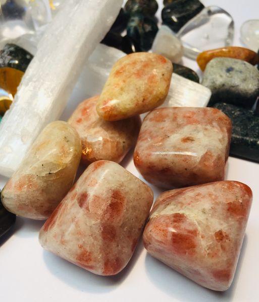 indisk solstein trommel sten slipt krystall egenskap healing chakra smykke stein krystaller kjøp billig