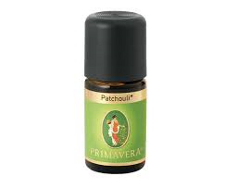 patchouli primavera prima vera aroma olje eterisk olje essensiell oil hudpleie søvn røkelse mystica nettbutikk norsk