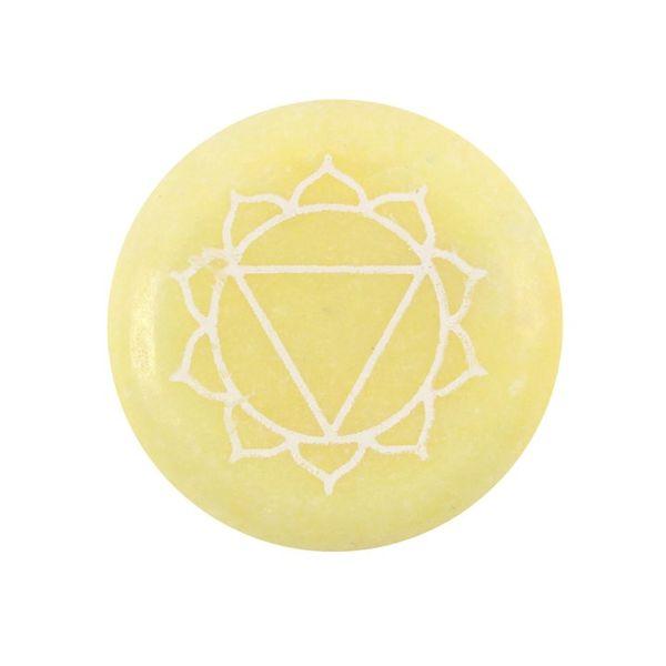 3 chakra manipura krystall sten