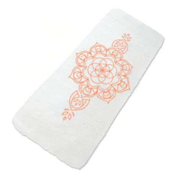 mandala lammeullsmatte yogamatte